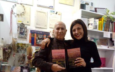 Presentación «El Laberinto de la Tía Mara» con Luis Compés de «Notting Hill Bookshop»