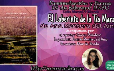 Presentación y firma «El Laberinto de la Tía Mara» en Murcia